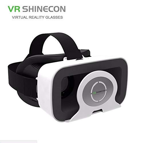 DJGHPWP VR SC-3GR 3D VR Einzelanzeige Google Cardboard Bluetooth-Fernbedienung Gamepad Virtual Reality Glassess