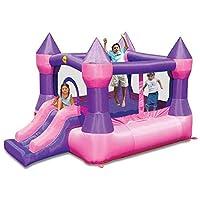 Happy Hop 9017P Castle Bouncer with Slide, Multicolour