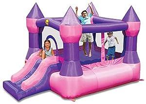 Happy Hop- Castle Bouncer with Slide, (9017P)