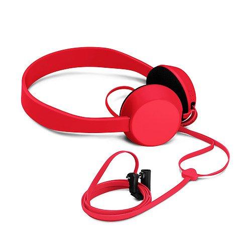 Nokia Coloud Knock On-Ear Leicht Kopfhörer für iPod, iPhone, MP3 Player und Smartphone - Rot