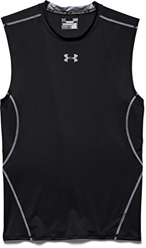 Under Armour Herren Hg Armour SL Fitness-T-Shirts & Tanks, Black, XL