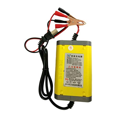 Heaviesk 12V 2A Intelligente Auto Power Bank Motorrad Batterieladegerät Portable Automobile Power Supply Fahrzeugzubehör (12 Volt Portable Power Supply)