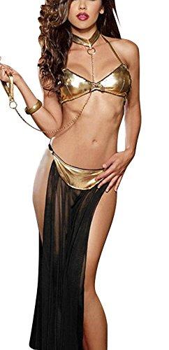 (The Good Life Arabische Nacht Bauchtänzerin Harem Kostüm/Lingerie mit Handschelle Größe 36-40)