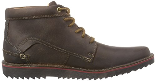 Clarks Remsen Hi, Herren Kurzschaft Stiefel Braun (Brown Leather)