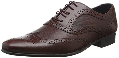 Red Tape Herren Carn 2 Brogue Brown (Bordo)