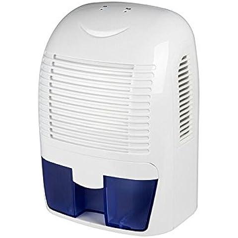Hysure 1500ml Mini déshumidificateur Air Portable Dehumidifier pour Damp Mould Cuisine, Chambre, Caravane, Bureau, Garage, etc.