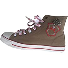 11468846408c By Johanna Trachten-Sneaker Trachten-Schuhe Trendige Sneaker Herren-Schuhe  Canvas.Wer