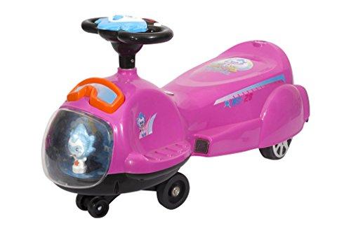 Toy House Toyhouse Spaceship Swing Car Pink