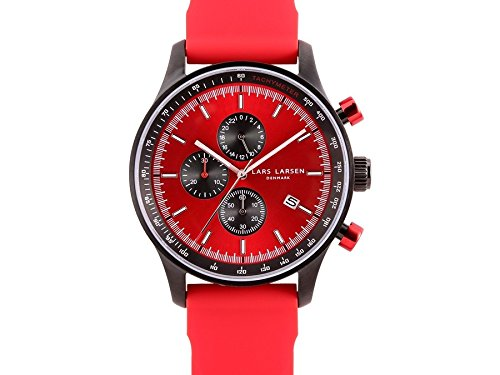 Mens Lars Larsen Chronograph Watch 133CRRS