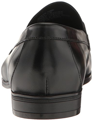 Kenneth Cole NY Spare Time Rund Leder Slipper Black