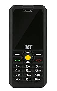 CAT PHONES B30 Rugged Dual-SIM Mobile Phone (128MP, 2 Inch Display, 2MP Camera, 1000mAh Battery, SIM Free, Dust and Waterproof)