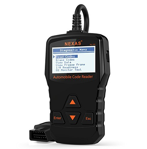 Scanner Diagnostico per Auto NL100 Fixd Engine Issue OBD2 / EOBD Tester Turn off Engine Warning Light Software di Diagnosi OBDII Strumento Italiano Nero