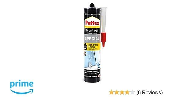 Kleber Pattex Montage Spezial Kartusche 290g Transparenter Montagekleber Klebstoff