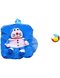 Jrp Mart Blue Soft Toy Bag With Little Ball