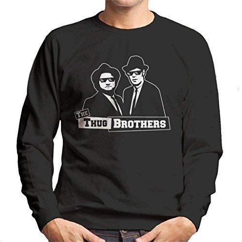 The Thug Brothers Blues Brothers Meme Men's Sweatshirt
