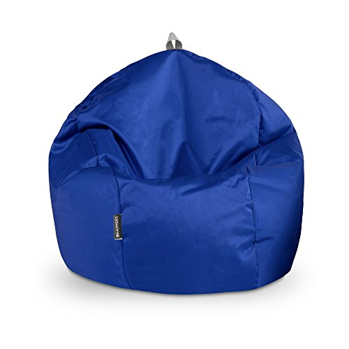 HAPPERS Puff Pelota Naylim Impermeable Azul