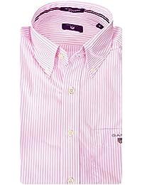 Gant The Poplin Banker Stripe Ls Bd - Camisa Hombre