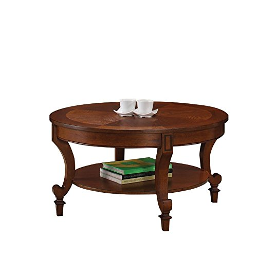 Coaster Home Furnishings 704408 Coffee Table, NULL, Warm Brown