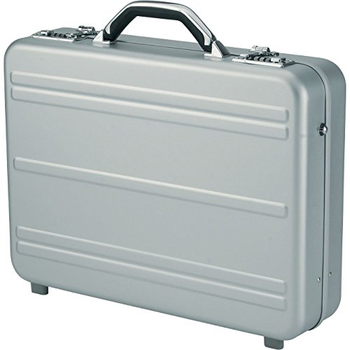 Alumaxx Alu-Aktenkoffer Mercato 46x35x11 cm 3kg Aluminium silber