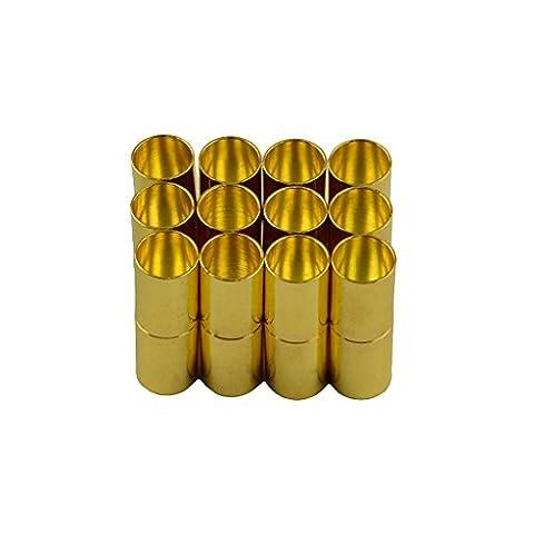 MagiDeal 12 Stk. DIY Schmuck Herstellung Magnetische Verschlüsse - Schmuck Zubehör - Gold