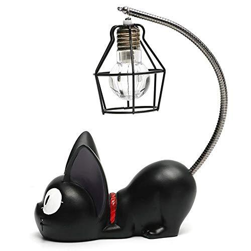Kreatives Harz Kiki Katze Tier Nachtlicht, Verzierungs-Dekoration Für Hauptgeschenk Kleine Kinderzimmerlampe Für Die Katzen, Die LED-Nachtlampe Atmen -