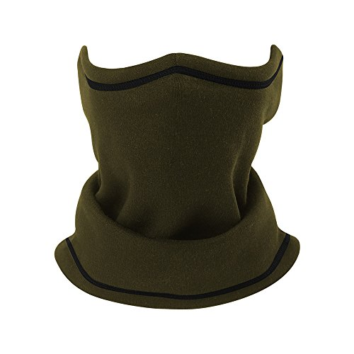 About1988 Multifunktionstuch, Half Face Warmer Maske Helm Bandana Halstuch Kopftuch Face Shield ist flexibel atmungsaktiv Maske fürs Motorrad Fahrrad Skifahren (Army grün) -