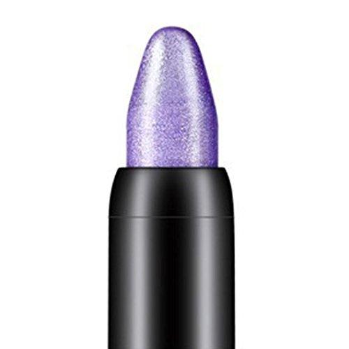 Internet 1PC Crayon fard à paupières de professionnelle de la beauté surligneur (Violet)