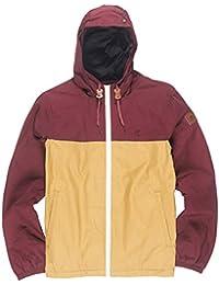 Element Alder veste d'hiver L canyon khaki/napa red