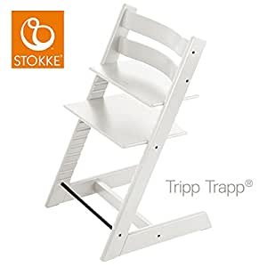 stokke 100107 kinderstuhl hochstuhl tripp trapp weiss baby. Black Bedroom Furniture Sets. Home Design Ideas