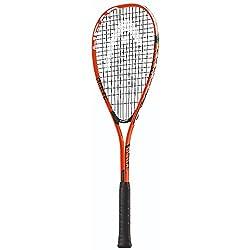 Para la máxima estabilidad y control de juego de su corte, este Cyber Edge-Raqueta de squash raqueta de cabeza es head-light y el ocio ideal o principiantes. Amplified Fibra tecnología aumenta la potencia de golpeo para un rendimiento optimizado. D...
