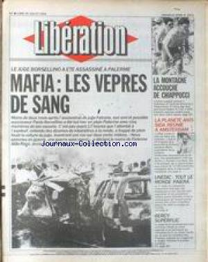 LIBERATION [No 3471] du 20/07/1992 - MAF...
