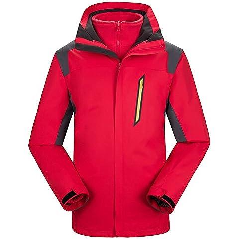 LaoZan Chaqueta de Esquí Con la Polar Desmontable - Impermeable y Cortaviento - Hombre - Color 3