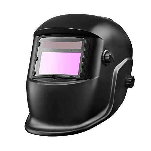 ONEVER Automatisches Verdunkeln der fotoelektrischen Schweißmaske Kopfmontierter Argon-Lichtbogenschweißkappen-Schweißens-Schutzhelm