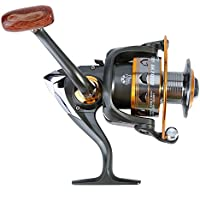 VGEBY Spinning Carretes de Pesca, Metal anticorrosión Smooth Casting Mar Carrete para Agua Dulce Agua Salada, 7000