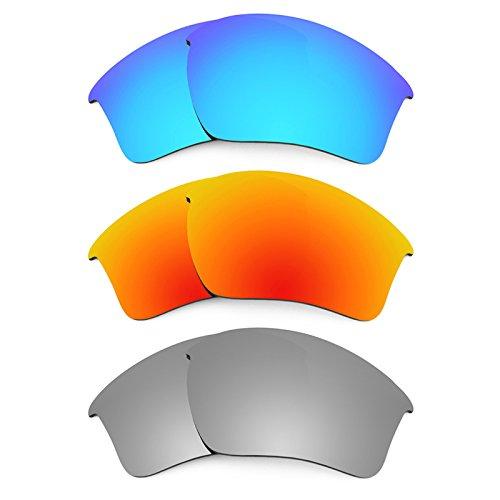 Revant Ersatzlinsen für Oakley Half Jacket 2.0 XL Polarisiert 3 Paar Kombipack K014