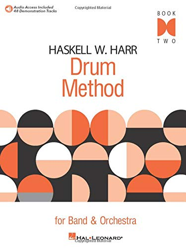 Haskell W. Harr Drum Method For Band And Orchestra Book 2 (Book/Cd)