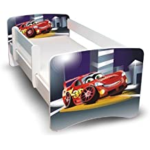 BEST FOR KIDS KINDERBETT 90x160 MIT RAUSFALLSCHUTZ 44 DESIGNS (Cars III)