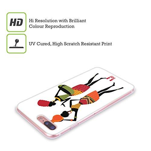 Head Case Designs Bavardage Motifs Africains- Serie 1 Étui Coque en Gel molle pour Apple iPhone 6 Plus / 6s Plus Bavardage