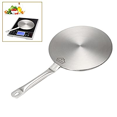 Anmas Home Induction Hob Cooking Converter Disc, Heat Diffuser, Simmer Ring, Hob Trivet Stainless Steel from Anmas Home