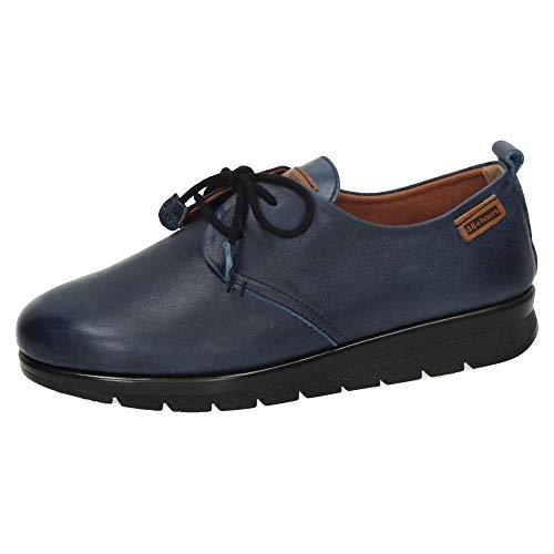 48 HORAS 920902/22 Zapatos Piel Marino Mujer Zapatos