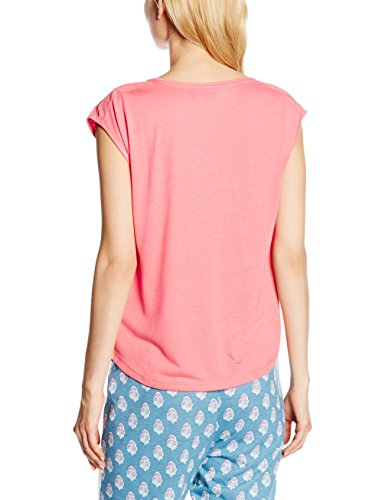 women'secret ed Ethnic Tee Coral, T-Shirt Donna Rosso (REDS)