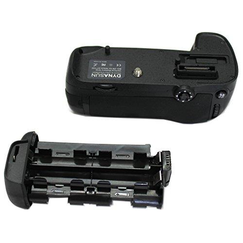 DynaSun D15 Impugnatura Battery Grip Professionale per Nikon D7100, Compatibile MB-D15 con Alloggiamento Speciale per 6 Batterie Stilo AA, Nero