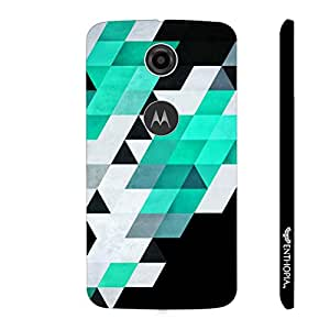 Motorola Moto E (2nd gen) Abstract Art 8 designer mobile hard shell case by Enthopia