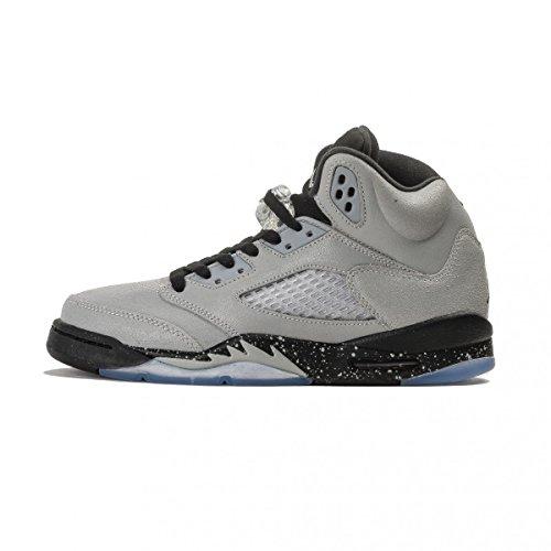 new concept 493b4 38782 3 Nike AIR Jordan 5 Retro GG - Baskets Fille, Gris, 36