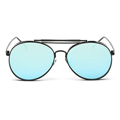 Idyandyans Retro Klassische Outdoor-Reisen Brillen Metallrahmen Sonnenbrillen Frauen Mann