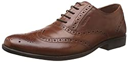 Red Tape Mens Tan Leather Formal Shoes - 6 UK/India (40 EU)