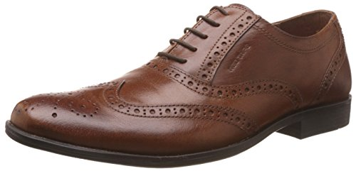 Red Tape Men's Brogue Tan Leather Formal Shoes - 7 UK/India (41 EU)