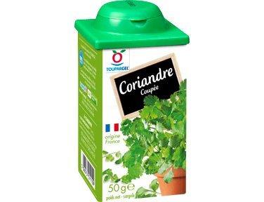TOUPARGEL - Coriandre coupée - 50 g - Surgelé