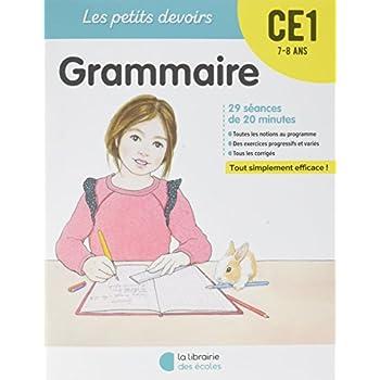 Les Petits devoirs - Grammaire CE1