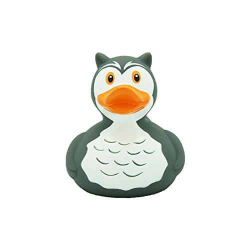 Eule-geschenk-korb (Quietscheente Eulen Ente, Gummiente, Quietscheentchen, Badeente, Quietsch Ente, Sammelfigur, Gummi Bade Spielzeug, LiLaLu, 1946)